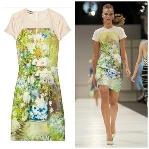 By Malene Birger Silk Natalim Watercolor Dress 38